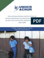 Acnur reporte niños migrantes
