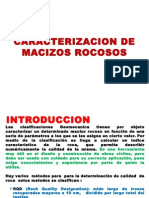 Caracterizacion de Macizos Rocosos- 2015