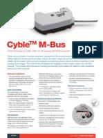 Catalog for M Bus Cyble Sensor