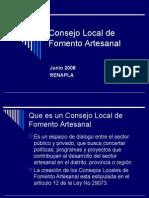 Consejo Local de Fomento Artesanal.ppt