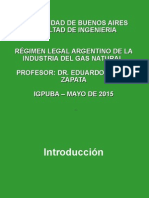 2 Igpuba - Regimen Legal de Gas Natural- Fac de Ingenieria Mayo de 2015