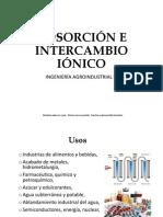 Adsorcion e Intercambio Ionico-final
