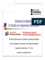 Sistemas Embebidos-2011 2doC-El Diseno en Ingenieria Electronica-Cruz