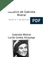 Natalicio de Gabriela Mistral