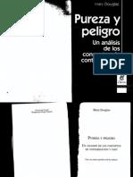 Pureza y Peligro Un Analisis de Los Conceptps de Contaminacion y Pureza