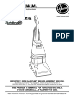 Hoover SpinScrub MANUAL