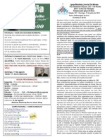 Boletim - 12 de Julho de 2015