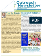 Outreach Newsletter Winter 2010