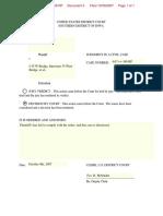 Riches v. I-35W Bridge - Document No. 5