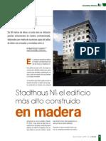 Artículo Técnico Edificio Madera