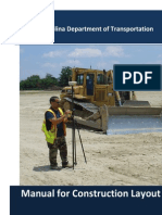 Construction Stakeout Manual