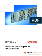 Beckhoff Bus Coupler BK3100
