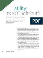 Versatility Its Not Soft Stuff