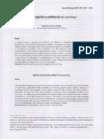 Ciência Cognitiva e Folk Psychology.