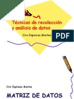 5. Técnicas de Recolección y Análisis