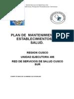 Plan de Equipamiento RSSCS