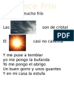 Cancion Del Frío