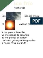 Cancion Del Frío