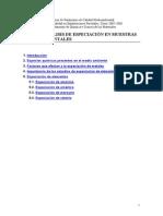 Analisis de Especialización en Muestras Medioambientales