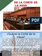 Fallo de La Corte de La Haya Maria
