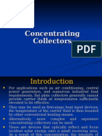 Concentrating Collector