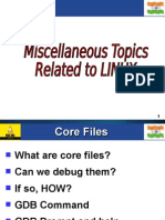 Remaining Topics Under Linux