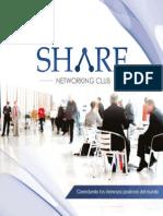 Brochure Share Networking Club