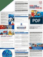 SSHE Management System leaflet
