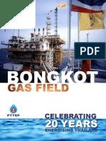Bongkot Field 20 year anniversary