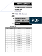 Att List Mbbs Year 3 - Theory (5 June)(1)