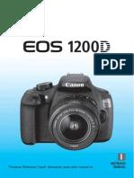 Manual Canon Eos 1200d