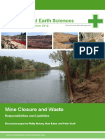 Mine Closure Paper