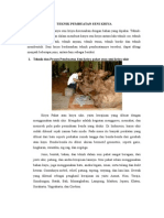Teknik Dan Proses Pembuatan Seni Kriya