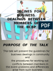 GUIDELINES  FOR  BUSINESS Unedited.pptx