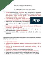 Propuesta Proyecto Educativo Objetivos[1]