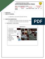 Informe Calor Específico FÍSICO-QUÍMICA