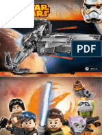 Lego Star Wars Sith Infiltrator 2015