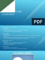 Motion Capture Equipment
