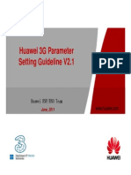 93469305 3G HW HCPT New Sites Parameter Setting Guideline v 1