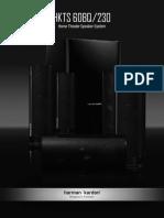 Owner's Manual - HKTS 60BQ (English EU)