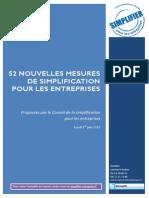 Dossier de Presse - Simplification Pour Les Entreprises