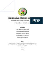 Centro Forense y Su Incidencia en Los Procesos Legales Mortuorios en La Parroquia Urbirríos Del Cantón Manta y 12 de Marzo Del Cantón Portoviejo, Portoviejo, Julio de 2015.