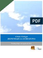 Crisis Griega. REPENSAR LA EUROZONA