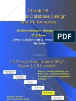 chap06 - physical database design and performance