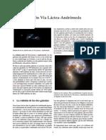 Colisión Vía Láctea-Andrómeda