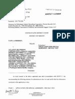 Andersen v. Atlantic Recording Corporation et al - Document No. 26