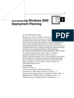 Introducing Windows 2000 Deployment Planning