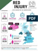 Brain Injury Statistics 2015 Inforgraphic
