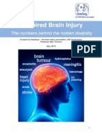 Acquired Brain Injury - The Numbers Behind the Hidden Disability
