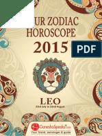 Your Zodiac Horoscope 2015-Leo